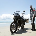 Thrills and spills in Brazil – one man and his bike